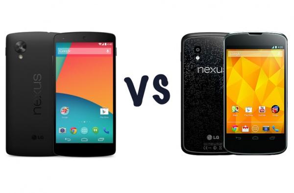 Google Nexus 5 ������ Nexus 4: � ��� �������?